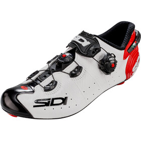 Sidi Wire 2 Carbon Chaussures Homme, white/black/red